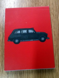 London taxi notebook | inkdrops.co.uk stationery subscription boxes