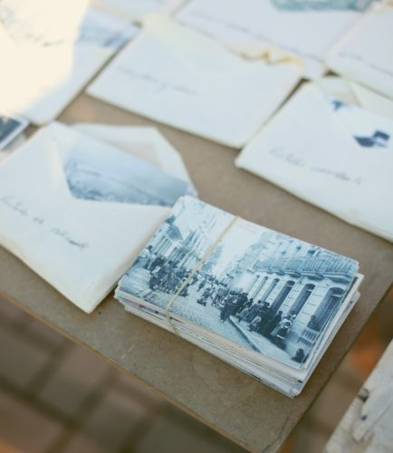 How do you store your old letter and other memories? - inkdros.co.uk - stationery by subscription - Photo by Elena Ferrer on Unsplash