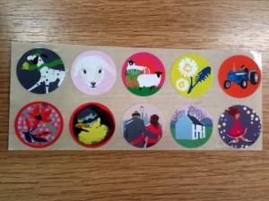 Ursula Celano stickers