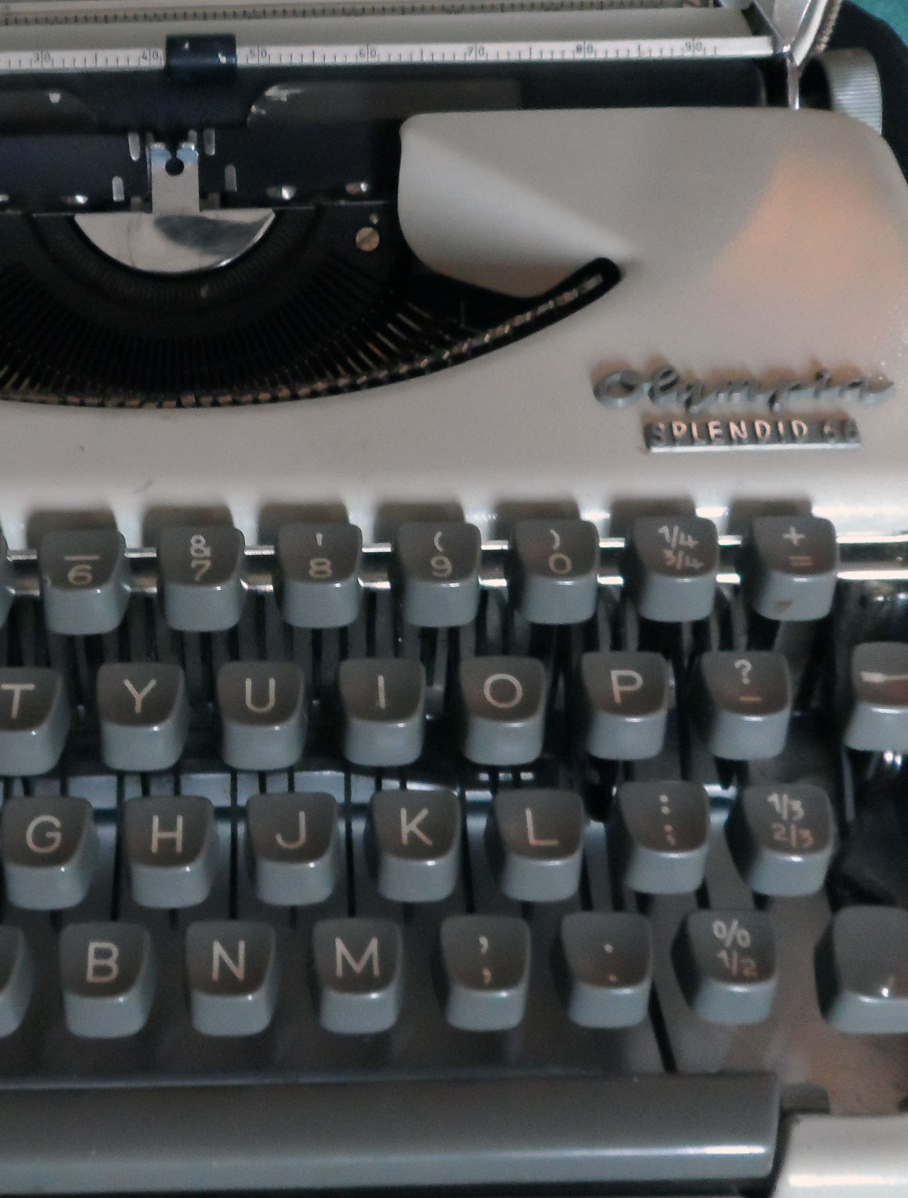 Getting to know your typewriter