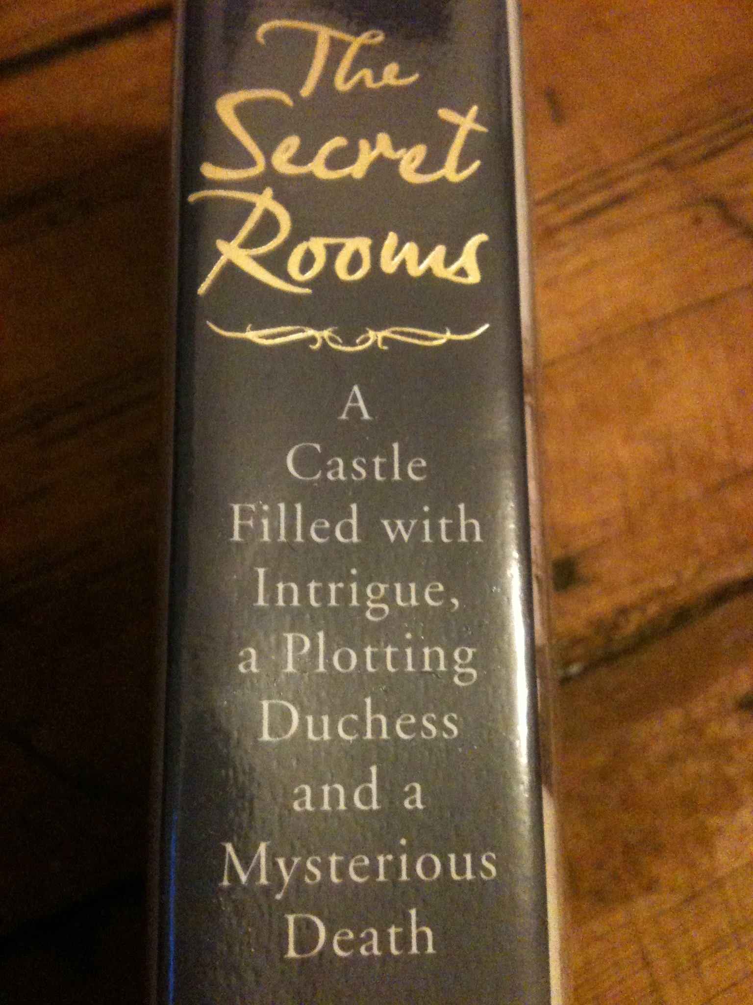 Stationery, letters and literature: The Secret Rooms by Catherine Bailey