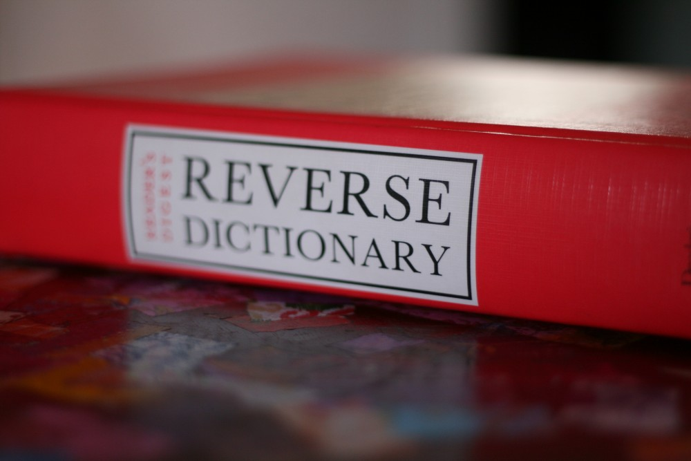 The secret love child of a dictionary and a thesaurus