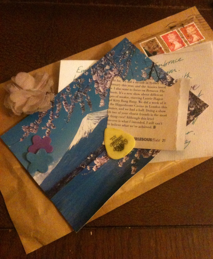 An envelope of snippets #1