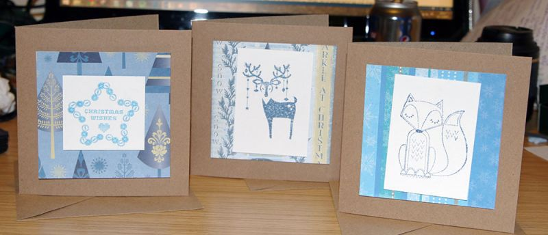 Crafting Sundays: Christmas cards