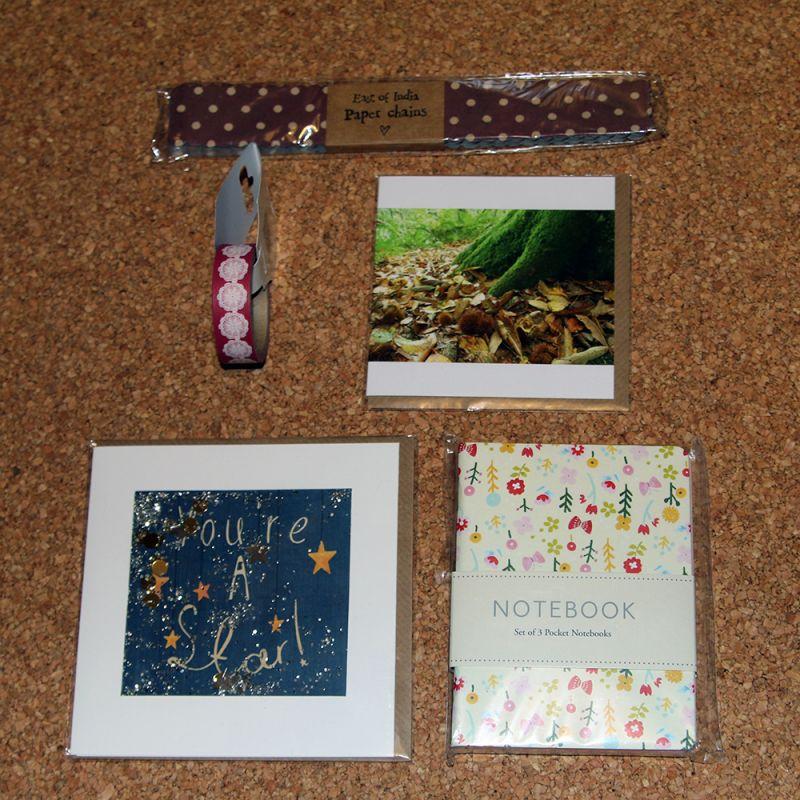 December Ink Drops parcel   inkdrops.co.uk