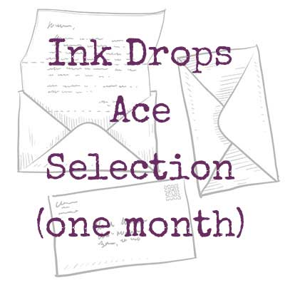 Ink Drops Ace stationery subscription one monthj