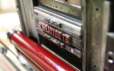 Learning to letterpress