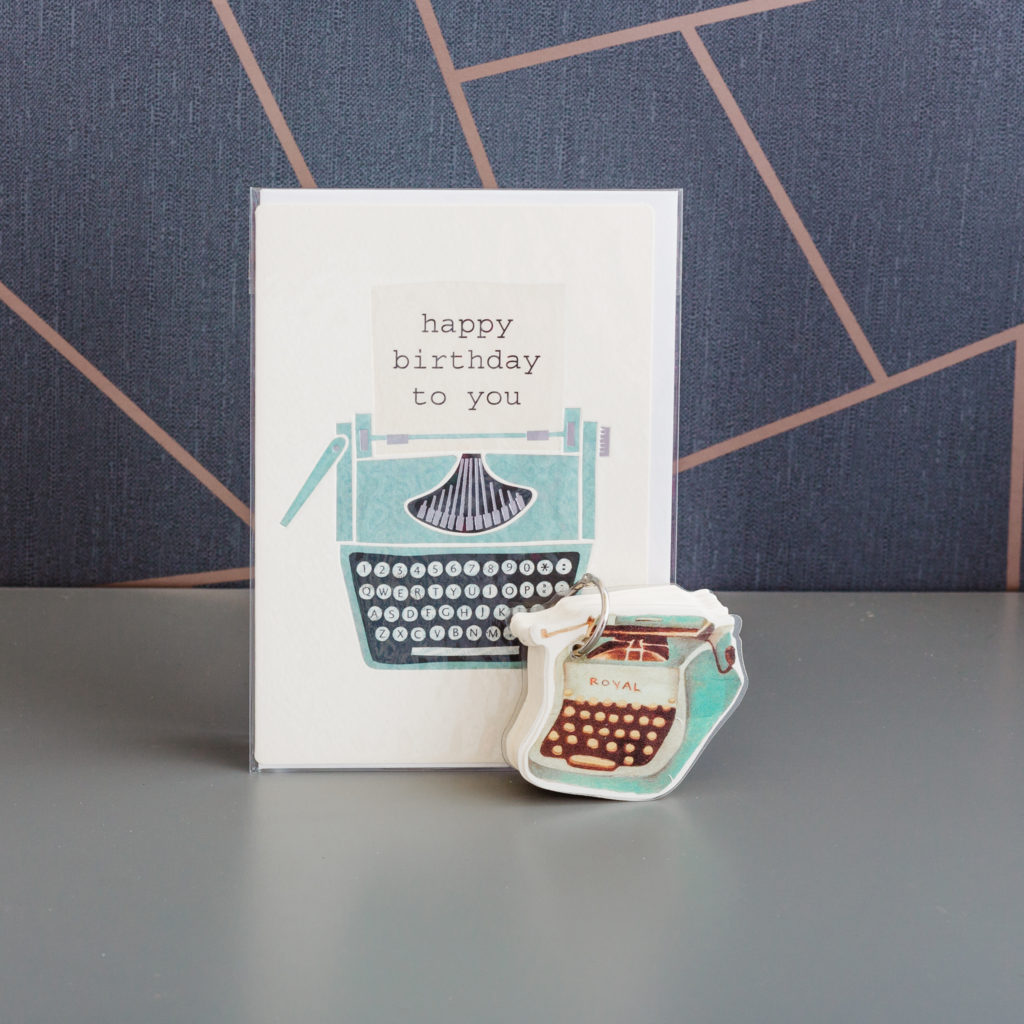 Typewriter Duo stationery bundle by Ink Drops stationery subscription boxes | inkdrops.co.uk