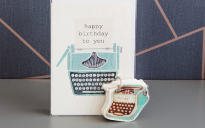 Stationery Shop Goodies: Typewriter Duo | shop the stationery boutique by Ink Drops