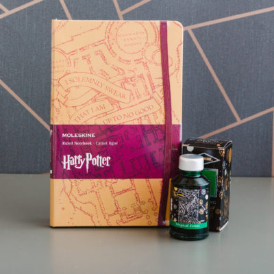 Harry Potter stationery box by Ink Drops stationery subscription boxes | inkdrops.co.uk