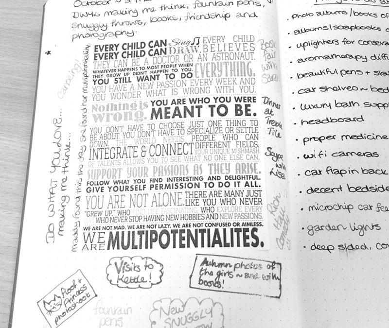 Bullet Journal Continuity – keeping information flowing between journals