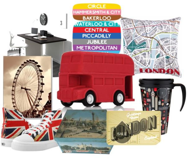 A little bit of London on your desk