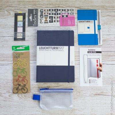 Bullet journal subscription box | Get Bulleting | inkdrops.co.uk