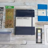 Get Bulleting bullet journal subscription box explore edition navy leuchhturm | inkdrops.co.uk