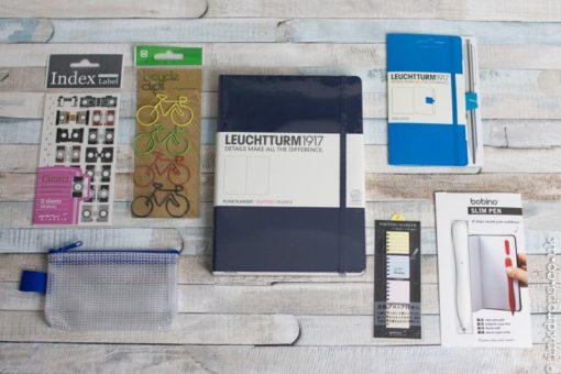 Get Bulleting bullet journal subscription box explore edition navy leuchhturm | inkdrops.co.uk