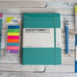 Get Bulleting bullet journal subscription box bright and bold edition emerald dotted leuchhturm | inkdrops.co.uk