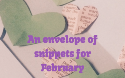 An envelope of snippets for February