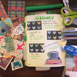 February intentions spread