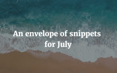 Postal museum, cute things and rich people – an envelope of snippets for July