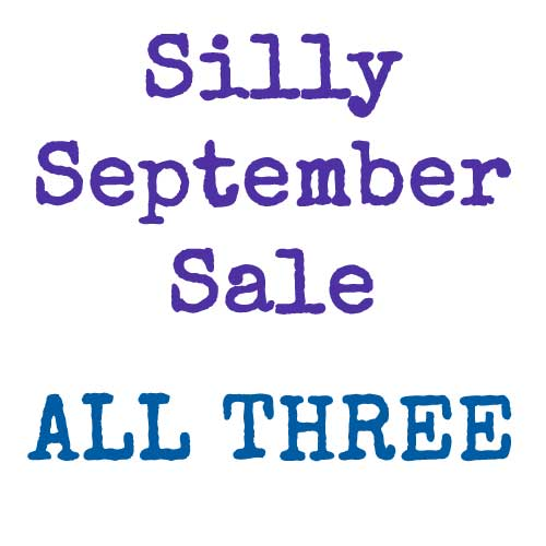 Silly September Sale - all three bundles | inkdrops.co.uk