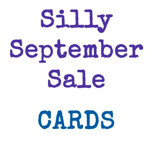 Silly September Sale | Cards | inkdrops.co.uk