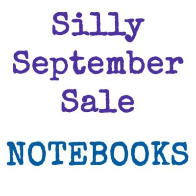 Silly September Sale | Notebooks | inkdrops.co.uk