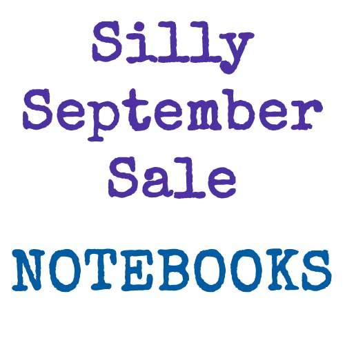 Silly September Sale | Notebooks | inkdrops.co.uk