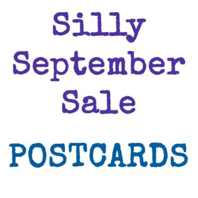 Silly September Sale | Postcards | inkdrops.co.uk