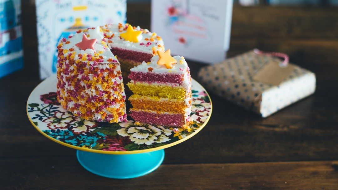 Time for cake – we're turning 5!!