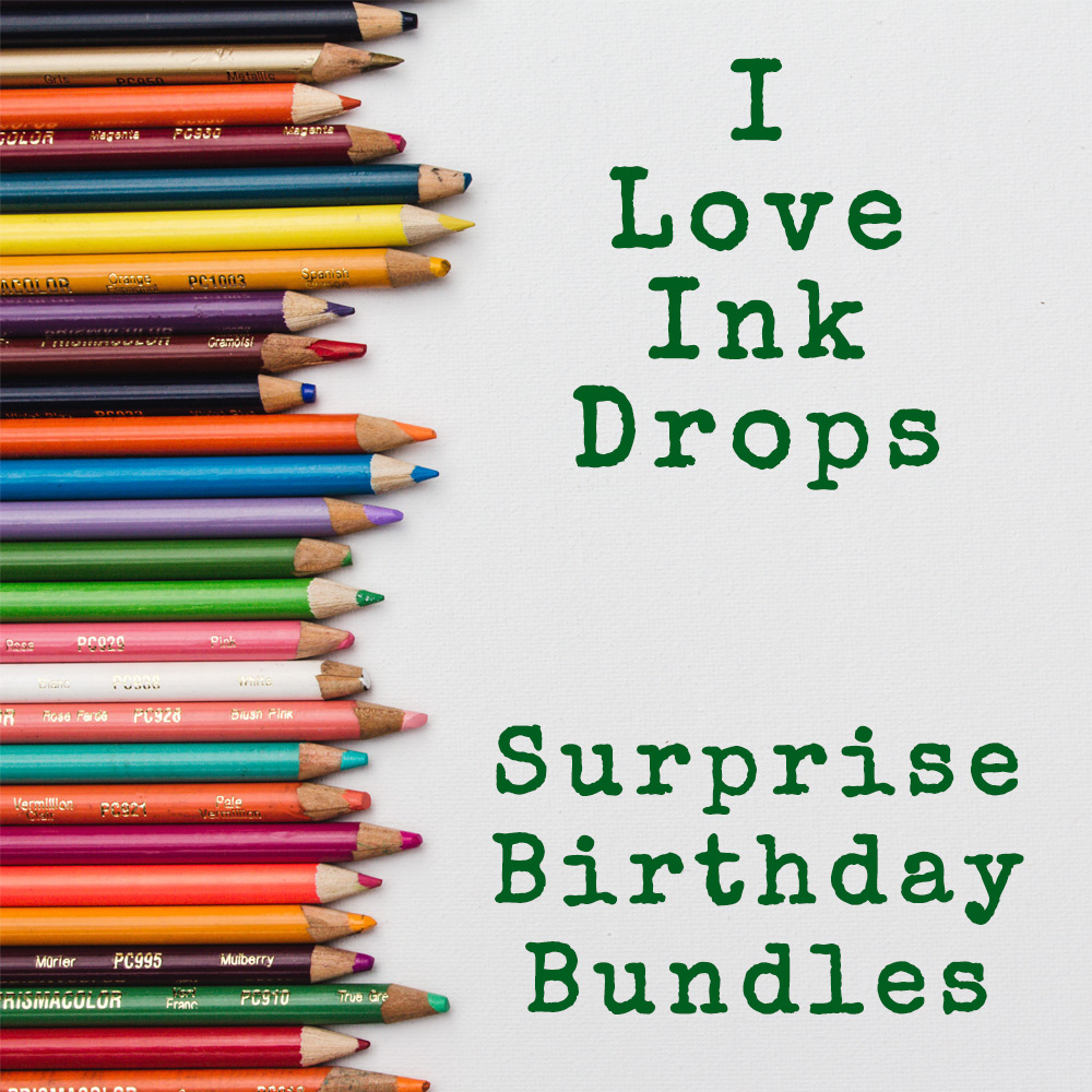 I love Ink Drops 5th birthday bundle | inkdrops.co.uk