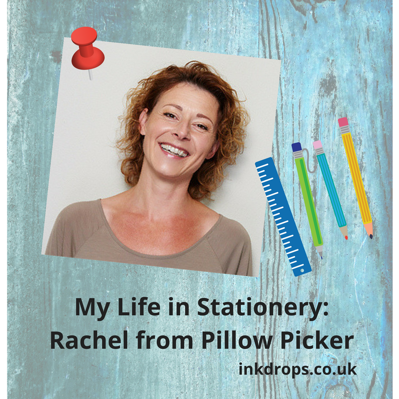 Rachel from Pillow Picker shares her life in stationery - inkdrops.co.uk - stationery by subscription