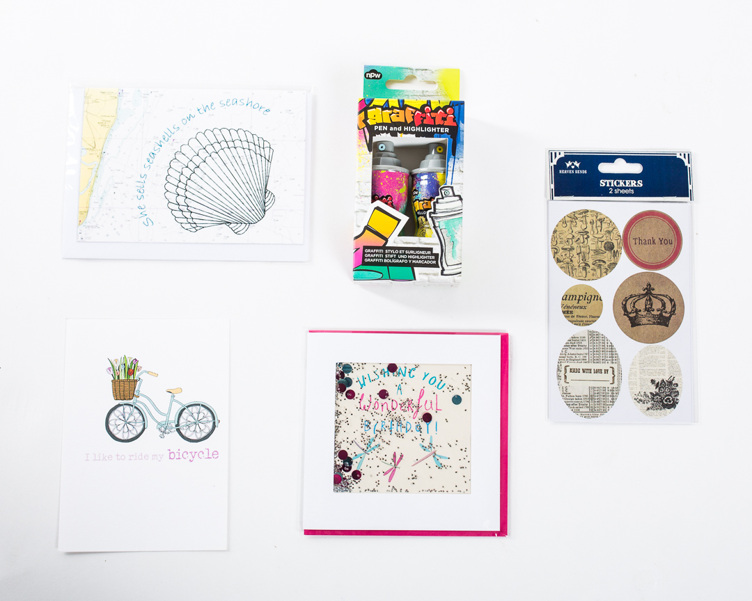 May 2018 stationery subscription box contents | UK subscription box | inkdrops.co.uk
