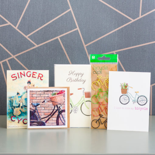 I Love Bicycles stationery box by Ink Drops Boxes | inkdrops.co.uk