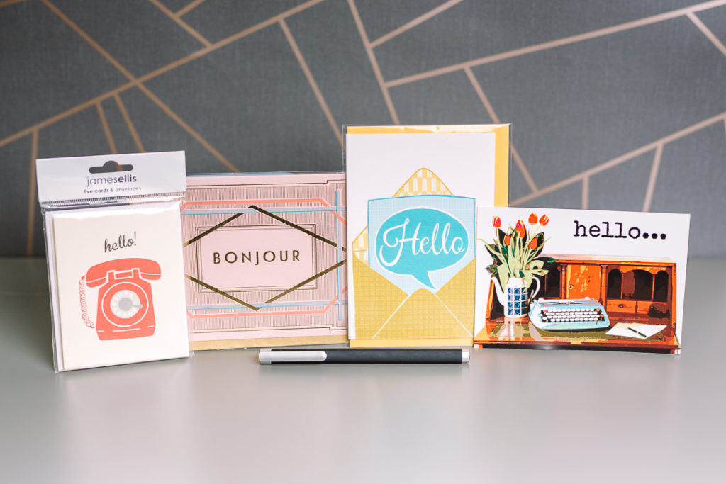 Say Hello stationery bundle | inkdrops.co.uk