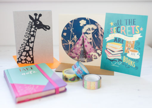 July stationery subscription box | inkdrops.co.uk