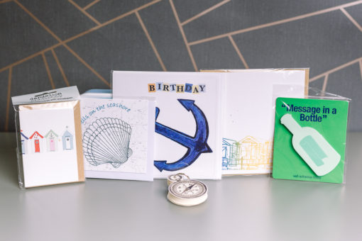I Love to be beside the seaside stationery gift box   inkdrops.co.uk