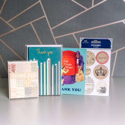 Thank You Notes stationery bundle | inkdrops.co.uk