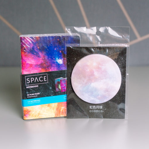 space themed stationery duo | inkdrops.co.uk