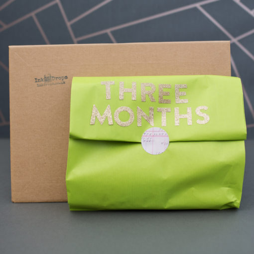 Three months stationery subscription | inkdrops.co.uk