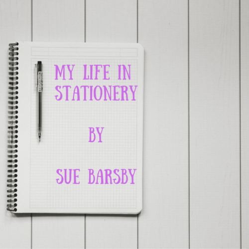 Sue Barsby answers our 'My Life in Stationery' quizlette - inkdrops.co.uk - stationery by subscription