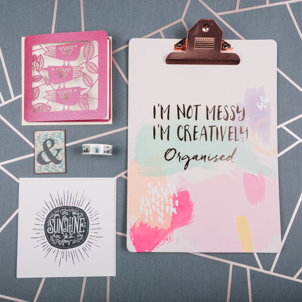 February stationery subscription box contents | inkdrops.co.uk