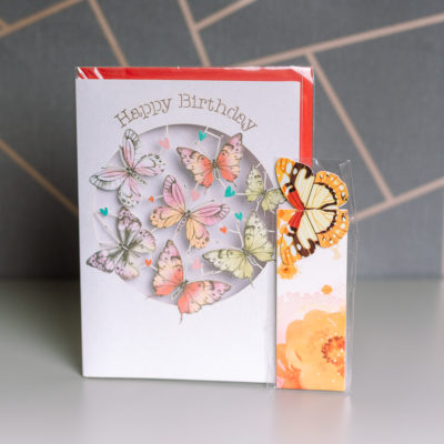 Butterfly stationery duo from Ink Drops Boxes - beautiful stationery by subscription - inkdrops.co.uk