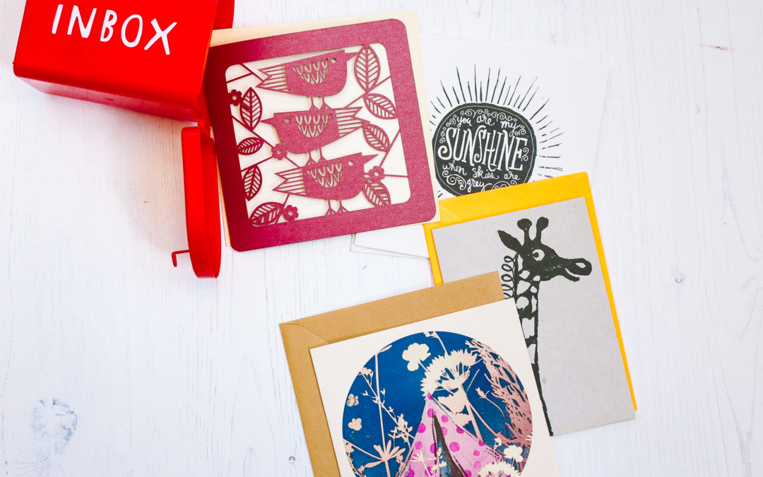 New card subscription service for National Stationery Week