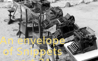 An Envelope of Snippets part 21