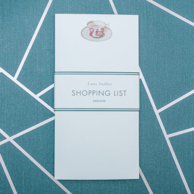 shopping list pad from inkdrops.co.uk - stationery by subscription