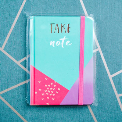 Take Note notebook from inkdrops.co.uk - stationery by subscription