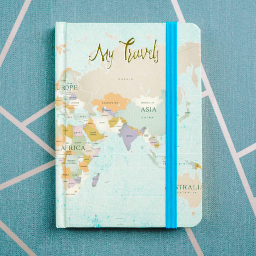 My travels notebooks from inkdrops.co.uk
