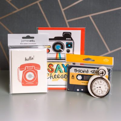 I love retro stationery selection from inkdrops.co.uk - Ink Drops stationery by subscription