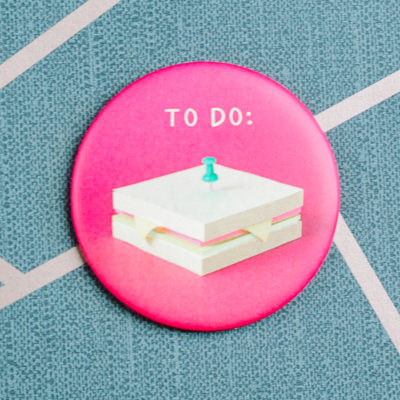 to do magnet from inkdrops.co.uk - Ink Drops - stationery by subscription