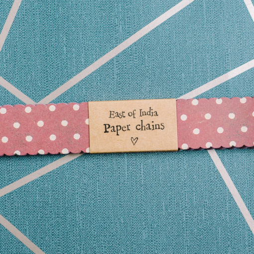Paper chains from inkdrops.co.uk - stationery by subscription